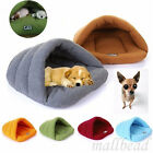 New Pet Cat Dog Nest Bed Puppy Soft Warm Cave House Sleeping Bag Mat Pad 6color