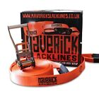 Maverick Slackline- 25m slackline and Instructional DVD (optional)