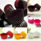 1000PCS Mini Chocalate Paper Liners Baking Cupcake Cases Muffin Cake Solid Color