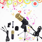 BM100 Condenser Sound Recording Microphone Dynamic Microphone + Shockmount