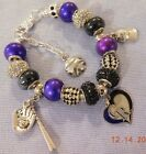 MLB COLORADO ROCKIES Crystal Team Charm Bracelet   FREE SHIPPING!!! on Ebay