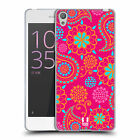 HEAD CASE DESIGNS PSYCHEDELIC PAISLEY SOFT GEL CASE FOR SONY XPERIA E5
