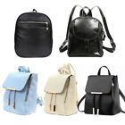 Women Gal Backpack Travel PU Leather Handbag Rucksack Shoulder School Bag US