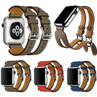 New Replacement Double Buckle Cuff Watch Band Strap For Apple Watch 2&1 Gift