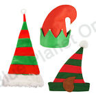 CHRISTMAS XMAS NOVELTY ELF SANTAS HELPER HAT FANCY DRESS COSTUME ACCESSORY
