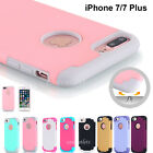 fr iPhone 7/Plus 6s 6 Shockproof Rugged Hybrid Rubber Protective Hard Cover Case