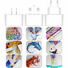 MARC ALLANTE ANIMALS WHITE EU CHARGER & MICRO-USB CABLE FOR HUAWEI PHONES 1