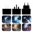 ANDI GREYSCALE NEBULA 2 BLACK UK CHARGER & MICRO-USB CABLE FOR SAMSUNG PHONES 1