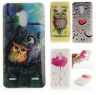 Fashion Catoon Patterns Silicon Soft Gel TPU Case Cover for ZTE Blitz