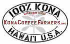 Dark Roasted Kona 100% Hawaiian Coffee Beans Fresh Roasted Daily 6 - 1 LBS Bags