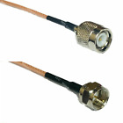 RG316 TNC MALE to F MALE Coaxial RF Cable USA-US