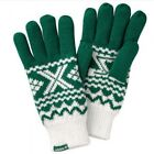 adidas Originals ZX GLOVES PADDED GLOVES GREEN WHITE S M L WINTER CHRISTMAS