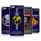 OFFICIAL STAR TREK MIRROR UNIVERSE BADGES ENT BACK CASE FOR APPLE iPOD TOUCH MP3