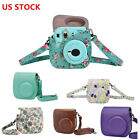 PU Leather Fuji Mini 8 Instant Camera Case Bag for Fujifilm Instax Mini 8 New