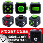 Fidget Cube Vinyl Desk Toy Adult Children Stress Anxiety Relief Xmas IN STOCK