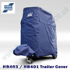 Genuine Ifor Williams HB403/401 Horse Trailer Cover Navy - N/Side J.Dr B01686L