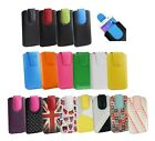 PU Leather Pouch Case Sleeve has Pull Tab Fits Xiaomi Phones
