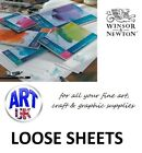 Winsor & Newton COTMAN WATERCOLOUR PAPER loose sheets Cold Pressed/NOT Surface