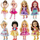 Disney Princess Toddler Dolls - Belle, Snow White, Cinderella, Ariel, Rapunzel
