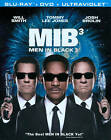 Men in Black 3 (Blu-ray/DVD, 2012, 2-Disc Set, NEW SEAL (I11)