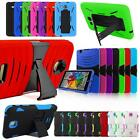 For Samsung Tablet Armor Combo Shockproof Kickstand Box Case Cover Accessories