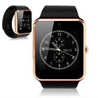 Latest Touch Screen Smart Watch with camera for Samsung iPhone LG HTC SONY GOLD