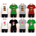 HEAD CASE DESIGNS DOUGHNUTS T-SHIRT FOR WOMEN