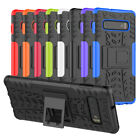 For Samsung Galaxy J2 Prime Case Hybrid TPU Hard Shockproof Cover with Kickstand