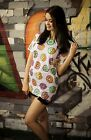 Donuts T-shirt Overized Top 90s Grunge Festival Kawaii Hipster Tumblr Pastel