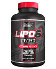 Nutrex Lipo 6 Black Extreme Potency- Powerful Weight Loss Formula (120 Capsules)