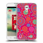 HEAD CASE PSYCHEDELIC PAISLEY SOFT GEL CASE FOR LG F70