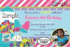 Candy Shop Invitation - Design CAN01