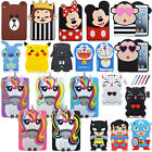 """3D Cartoons Kids Silicone Shockproof Cover Back Case For iPad Mini 1/2/3/4 7.9"""""""