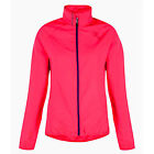 Womens Dare2b Blighted Cycling Windshell Jacket Hi Viz Neon Pink