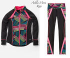 NWT Justice 10 12 Printed Mock Neck DANCE Jacket & Leggings Outfit