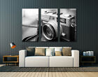 "Black and White Old Camera , Huge canvas print, wall art , up to 60""x40"","