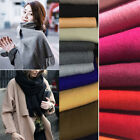 New Fashion Women Men Cashmere Scarf Winter Warm Solid Long Pashmina Shawl Wrap