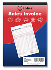 Duplicate Sales Invoice Book NCR Carbonless Preprinted 50 Sets Serially Numbered