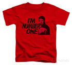 Toddler: Star Trek - Im Number One Apparel Baby T-Shirt - Red