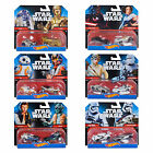Hot Wheels Disney Star Wars 2PK Die Cast Character Cars Vehicles Toys Age 3+