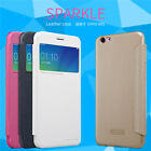 [for OPPO R9S] Nillkin Sparkle PU Leather Case Matte Slim View Flip Cover