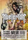 KVELERTAK Meir 2013 UK Tour PHOTO Print POSTER Band Nattesferd Metallica Shirt 1