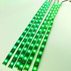 """6 Pack  DC 12V Waterproof 1Ft 15 LED Strip Underbody Light with 6"""" wires 4 motor"""