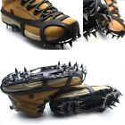 18 Teeth Ice Snow Boot Shoe Covers Spike Cleats Crampons Gripper Climbing New US