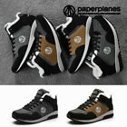 Paperplanes PP1423 Winter Shoes Mens Athletic Hi Tops Fur Sneakers Trainer Boots