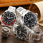 Mens Steampunk Luxury Diver Style Sport Mechanical Man Stainless Steel Watch