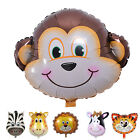 Cute Big Size Animal Head Balloons Helium Foil Ballons birthday theme party SC