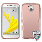 Rubberized Matte TUFF Armor Hybrid Protector Cover Phone Case For HTC Bolt