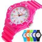 Waterproof Multifunction Electronic Sport Analog Wrist Watch For Child Boy Girl