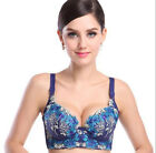 Underwire 1PCS Padded Push Up Lace Bra Sexy Women Deep V Hot 75C-85C Brassiere